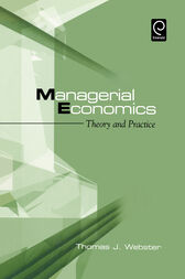 Managerial Economics by Thomas J. Webster