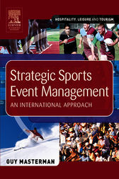 Strategic Sports Event Management by Guy Masterman