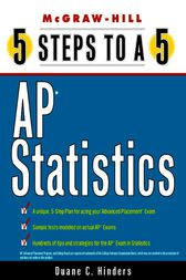 5 Steps to a 5 AP Statistics by Duane C Hinders