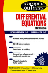 Schaum's Outline of Differential Equations, 3rd edition by Richard Bronson