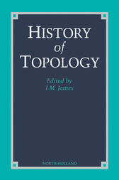 History of Topology by I.M. James