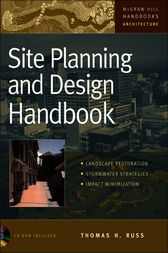 Site Planning And Design Handbook By Thomas Russ