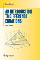 An Introduction to Difference Equations by Saber Elaydi