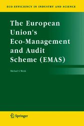 The European Union's Eco-Management and Audit Scheme (EMAS) by Michael S. Wenk