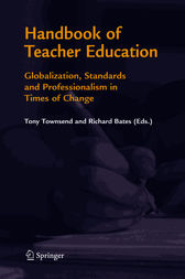 Handbook of Teacher Education by Tony Townsend