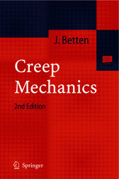 Creep Mechanics by Josef Betten