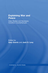 Explaining War and Peace by Jack Levy