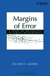 Margins of Error by Duane F. Alwin