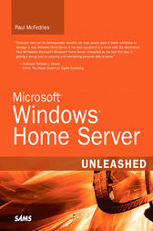 Microsoft Windows Home Server Unleashed (Adobe Reader) by Paul McFedries