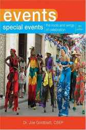 Special Events by Joe Goldblatt