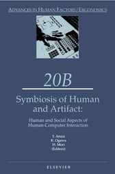 Symbiosis of Human and Artifact by Y. Anzai