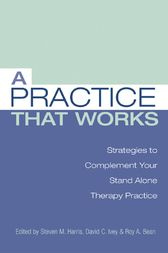 A Practice That Works:  Tips and Strategies for Your Stand Alone Therapy Practice
