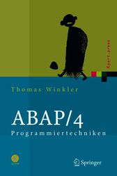 ABAP/4 Programmiertechniken: Trainingsbuch (Xpert.press) (German Edition) by Thomas Winkler