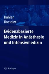 Evidenzbasierte Medizin in Ansthesie und Intensivmedizin (German Edition)
