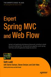 Expert Spring MVC and Web Flow by Colin Yates