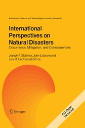 International Perspectives on Natural Disasters: Occurrence, Mitigation, and Consequences by Joseph P. Stoltman
