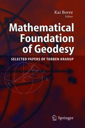 Mathematical Foundation of Geodesy