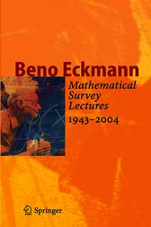 Mathematical Survey Lectures 1943-2004