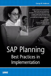 SAP Planning by George Anderson