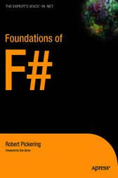 Foundations of F# by Robert Pickering