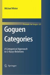 Goguen Categories by Michael Winter