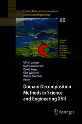 Domain Decomposition Methods in Science and Engineering by Ulrich Langer