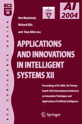 Applications and Innovations in Intelligent Systems 12