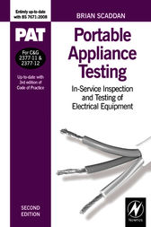 PAT: Portable Appliance Testing by Brian Scaddan