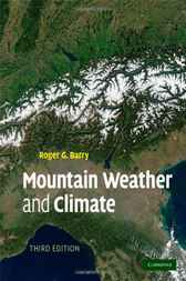 Mountain Weather and Climate by Roger G. Barry