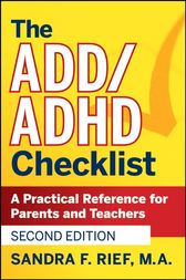 The ADD / ADHD Checklist by Sandra F. Rief