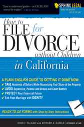How to File for Divorce in California without Children by John J Talamo