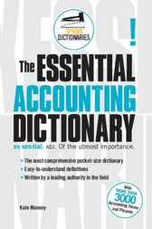 Essential Accounting Dictionary by Kate Mooney