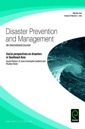 Social Perspectives on Disasters in Southeast Asia