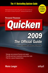 Quicken 2009 The Official Guide by Maria Langer