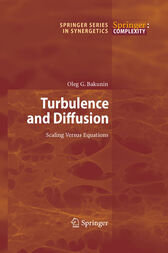 Turbulence and Diffusion by Oleg G. Bakunin