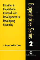 Priorities in Biopesticide Research and Development in Developing Countries by J. Harris