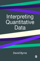 Interpreting Quantitative Data by David Byrne