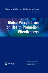 Global Perspectives on Health Promotion Effectiveness by David Mcqueen