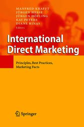 International Direct Marketing by Manfred Krafft