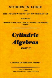 Cylindric Algebras by Author Unknown