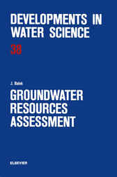 Groundwater Resources Assessment by J. Balek
