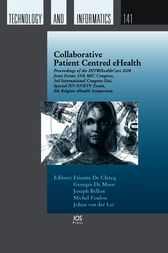 Collaborative Patient Centred eHealth by E. De Clercq