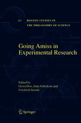 Going Amiss in Experimental Research by Giora Hon