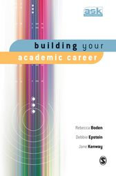 Building Your Academic Career