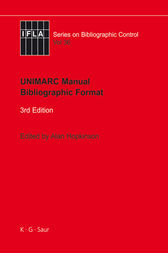 UNIMARC Manual by Alan Hopkinson