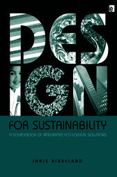 Design for Sustainability by Janis Birkeland