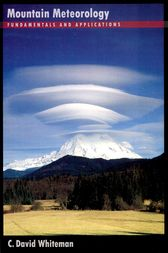 Mountain Meteorology by C. David Whiteman
