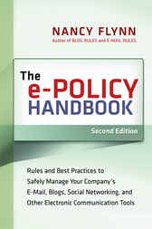 The e-Policy Handbook by Nancy FLYNN