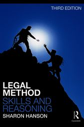 Legal Method, Skills and Reasoning by Sharon Hanson