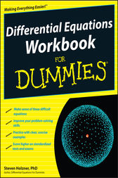 Differential Equations Workbook For Dummies
